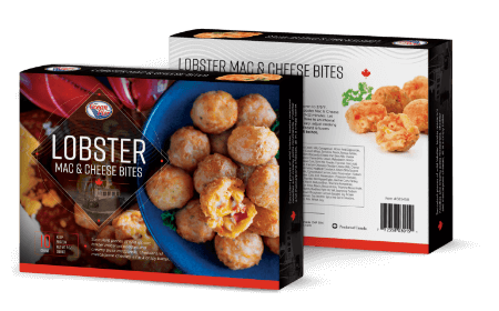 Lobster Mac & Cheese Bites